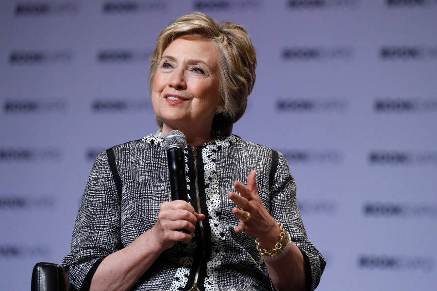 Hillary Clinton revealed the title of her new memoir