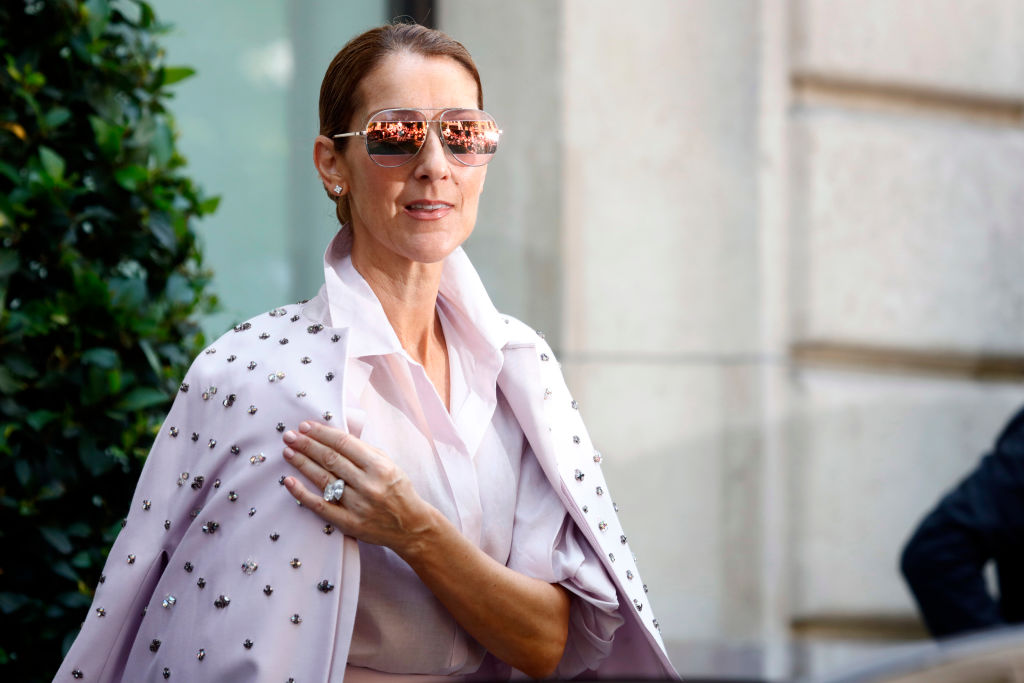Celine Dion's Paris Fashion Week outfit just might be peak Celine Dion