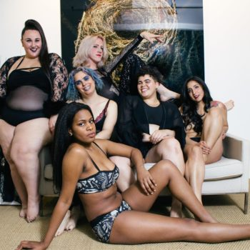 This lingerie photoshoot celebrates the beauty of trans and non-binary bodies