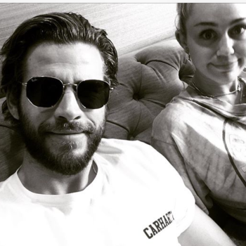 Miley Cyrus does NOT like the cutesy Instagram Liam Hemsworth just posted of them