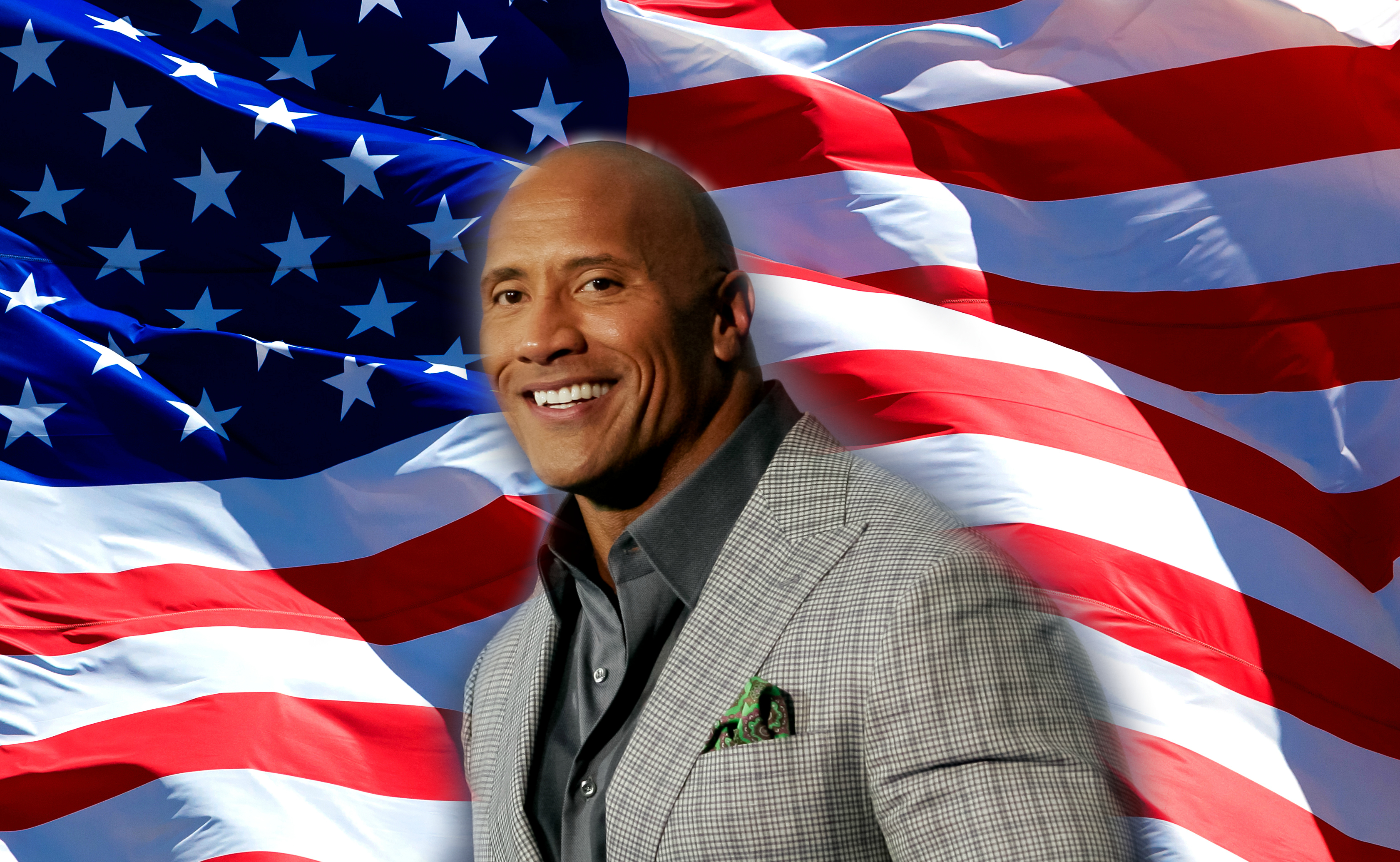 Because we need a light in the darkness, The Rock has actually filed paperwork to run for President