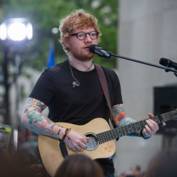 Ed Sheeran and his cats teased his upcoming tour dates on Instagram