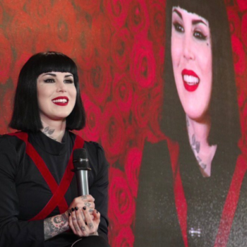Kat Von D is coming out with a brow collection, and she just teased the epic artwork