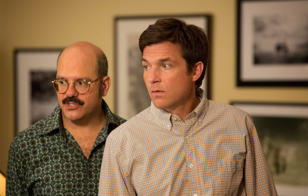 "Everyone hop onto the stair car, because Jason Bateman is teasing a *sixth* season of ""Arrested Development"""