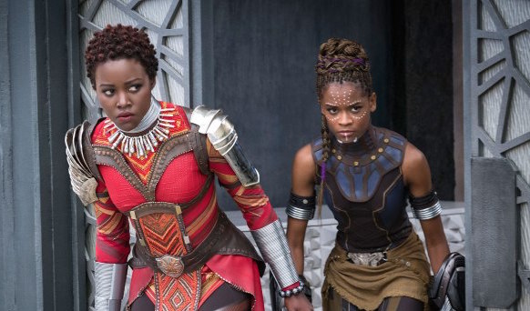 """From these new pictures, it's clear that the ladies are going to steal the show in Marvel's upcoming """"Black Panther"""""""