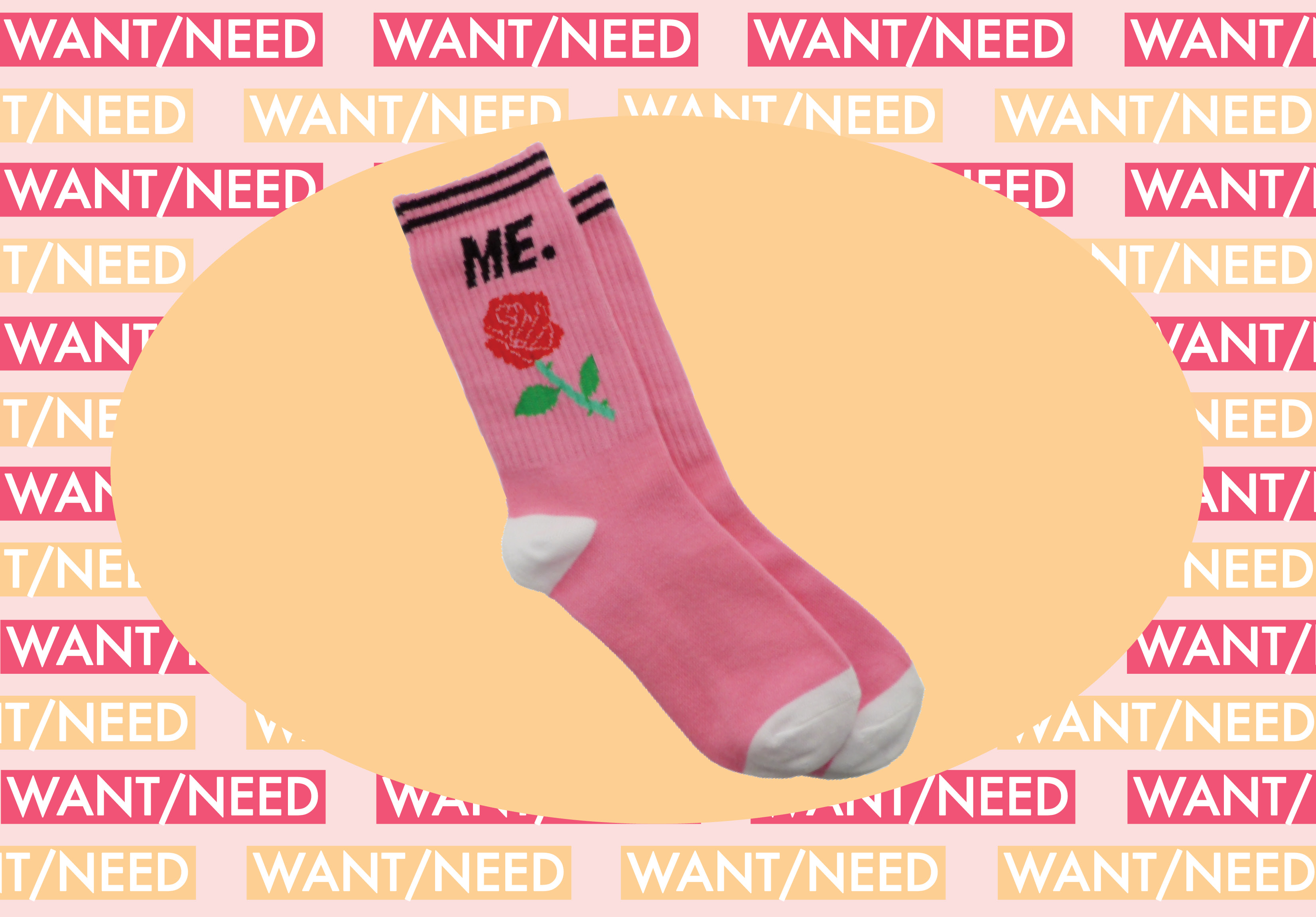 WANT/NEED: A pair of rose socks for your stems, and more stuff you'll want to buy