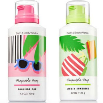 "Bath and Body Works' new line of ""shapeable soaps"" are like bath toys for adults"
