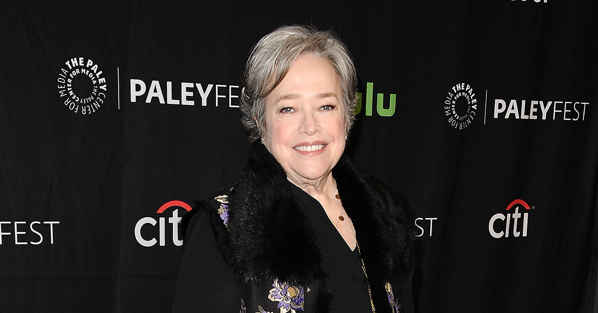 Kathy Bates says she was told not to reveal her cancer diagnosis because it might impact her career