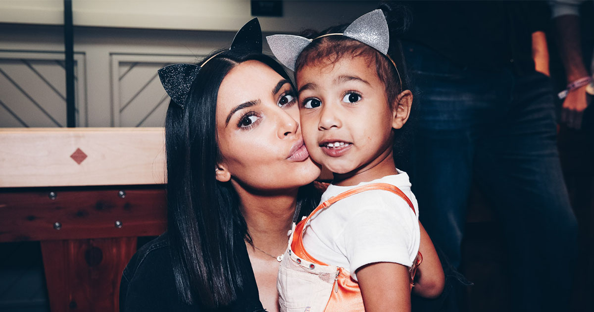 Kim Kardashian had to defend one of North's outfits, and here's why