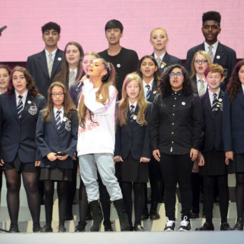 Ariana Grande was just named Honorary Citizen of Manchester, and her response will make you teary