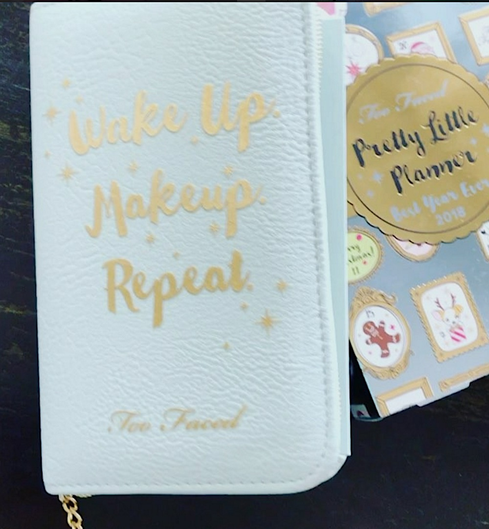 Calling all stationery lovers: Too Faced is coming out with beauty planners for their Holiday collection