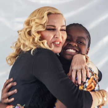 Madonna opened up about her emotional journey to adopt daughter Mercy James
