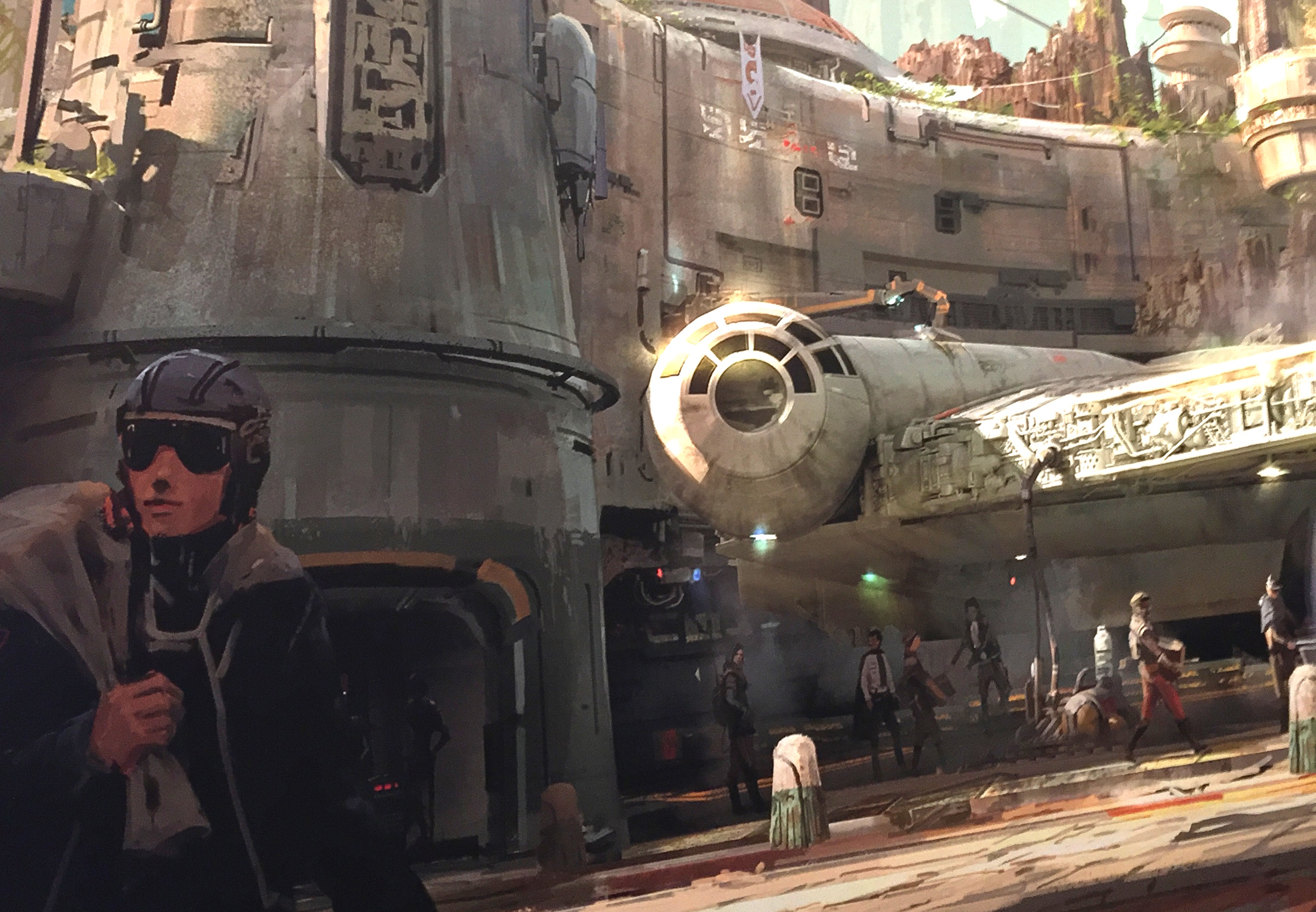 The first look at ALL of Star Wars Land is here, and omfg