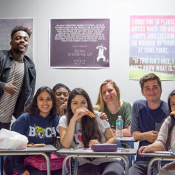 These high schoolers started a lunch club so no one has to eat alone