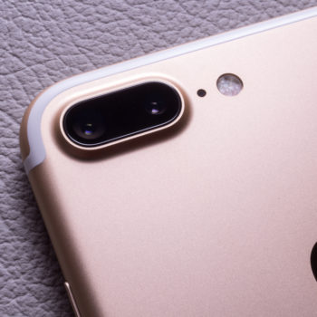 This is what that little hole near your iPhone camera is for
