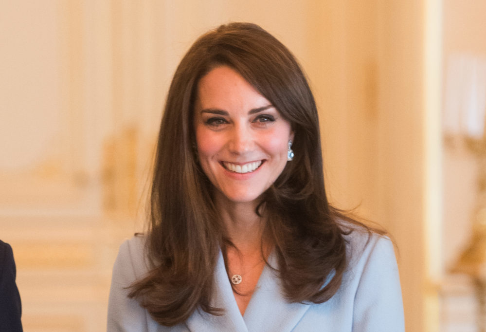 Kate Middleton's little ice-blue dress is the new LBD