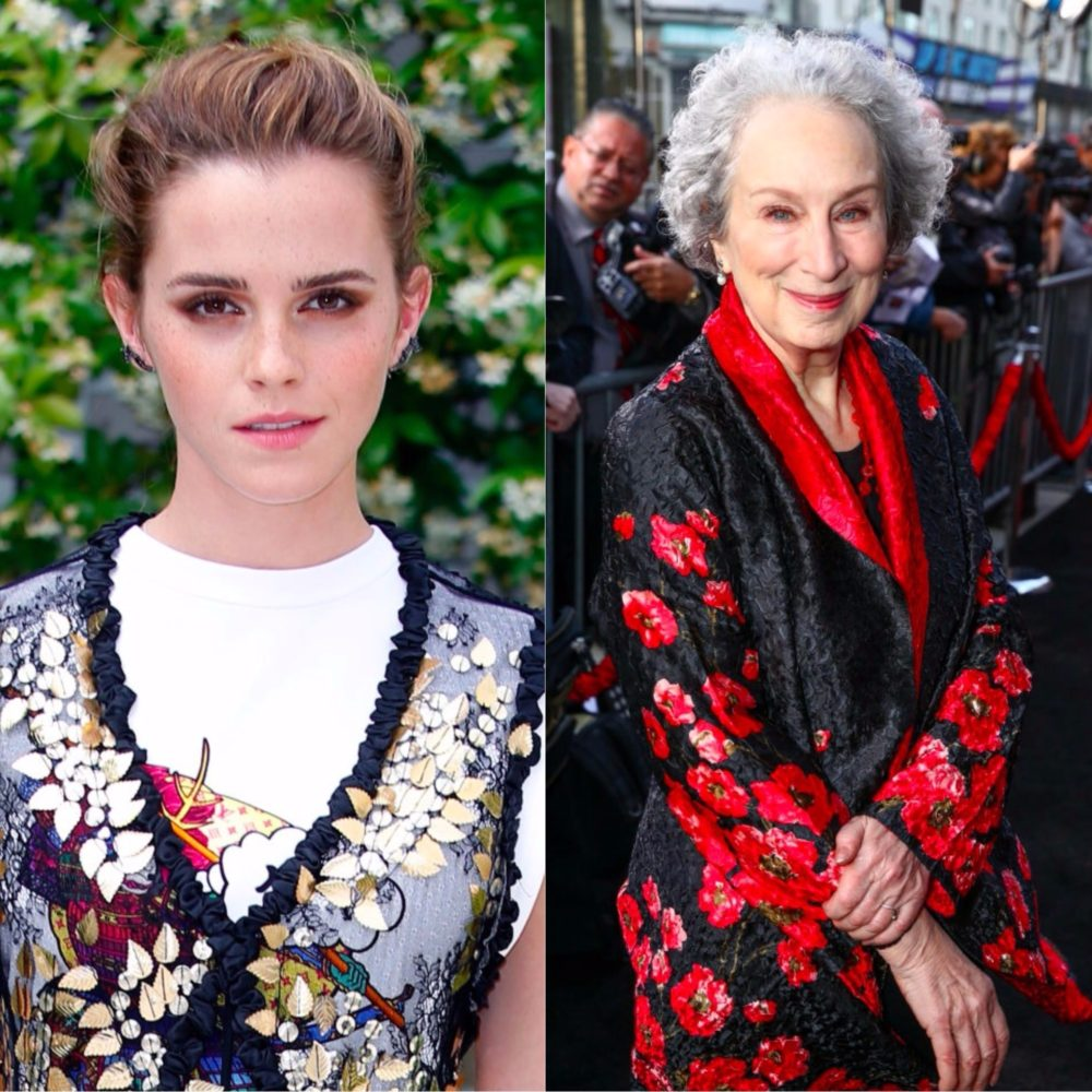 Margaret Atwood and Emma Watson made an excellent point about interviewers asking people if they are feminists