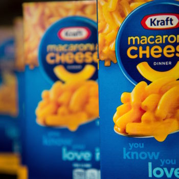 Yikes: The cheese powder in your mac and cheese likely contains dangerous chemicals