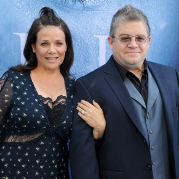 """Patton Oswalt and his fiancée just had their first public """"fight"""" on Twitter, and the internet is loving it"""