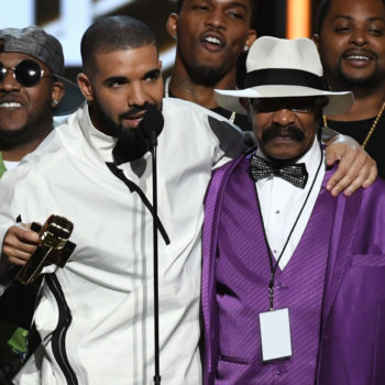 Drake and his dad are co-starring in two hilariously absurd new ads for Virginia Black whiskey