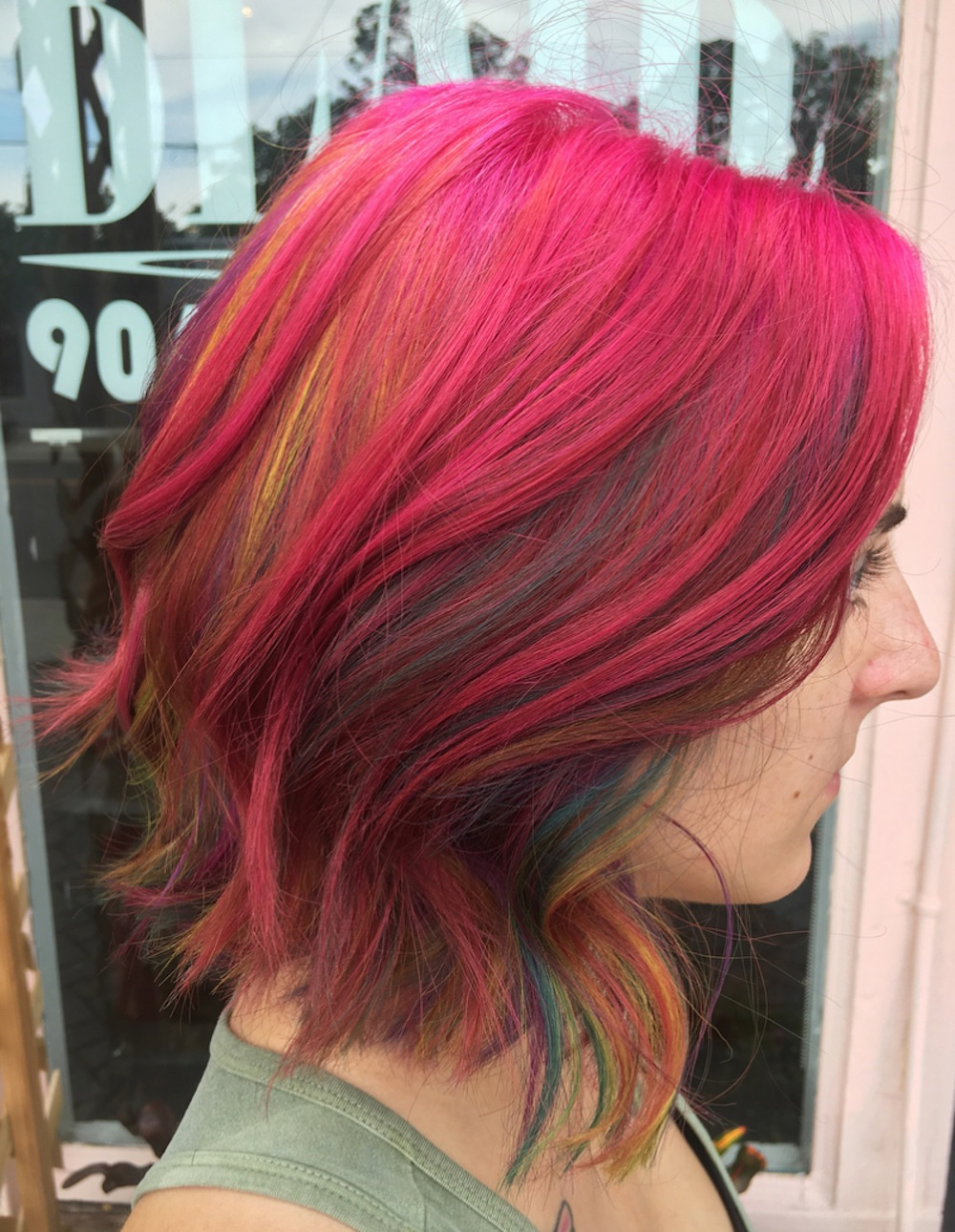 """Fruity Pebbles"" hair is the breakfast-meets-beauty trend you're gonna want to try asap"