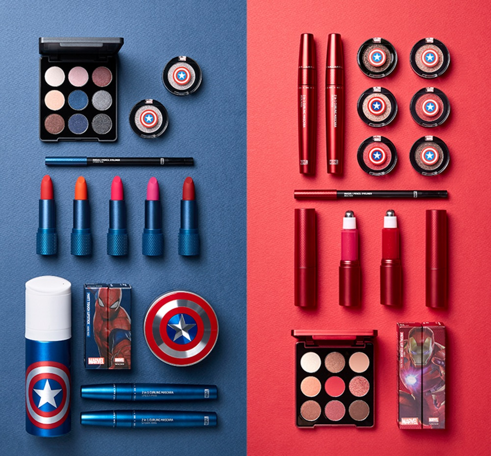 A Korean beauty brand released a Marvel collection, and now we have superhero makeup dreams