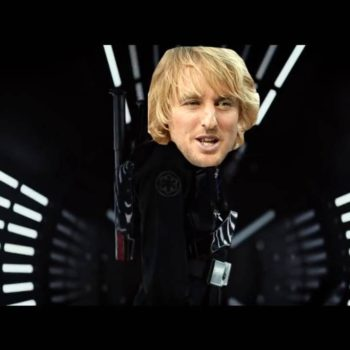 "Some genius replaced the lightsaber sounds in ""Star Wars"" with Owen Wilson saying ""wow"""