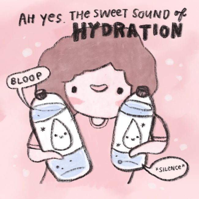 Welcome to Hydration Nation, where the population is hopefully all of us