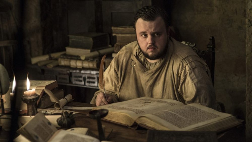 "According to this fan theory, Sam might actually have a MUCH larger role in the ""Game of Thrones"" endgame"