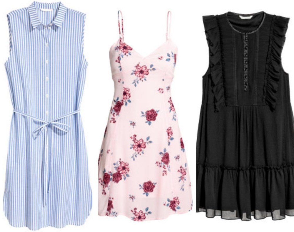 From a work-friendly shirtdress to a lacy goth mini, here are 13 dresses to shop right now from H&M's huge sale