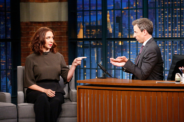 This is Maya Rudolph's secret to doing a spot-on Ivanka Trump impression, and LOL