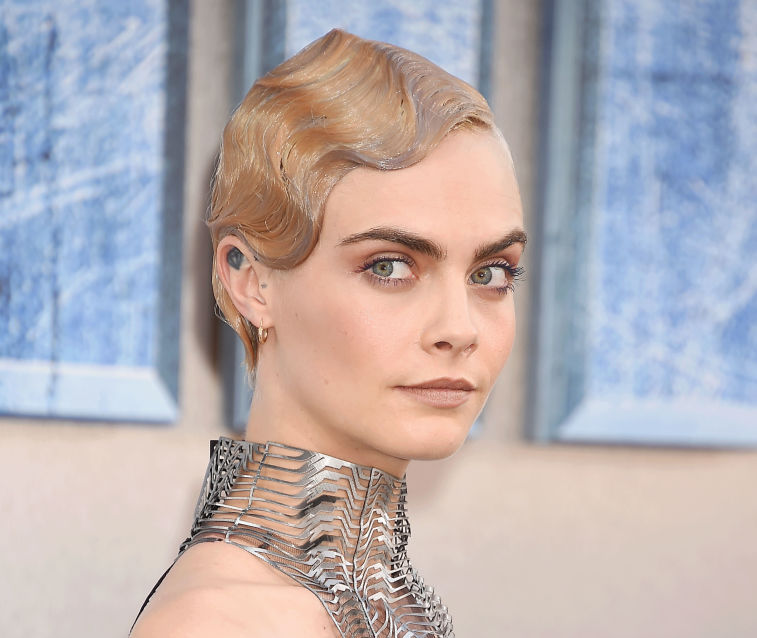 "Cara Delevingne has a song on the ""Valerian"" soundtrack, because this girl is a damn triple threat"