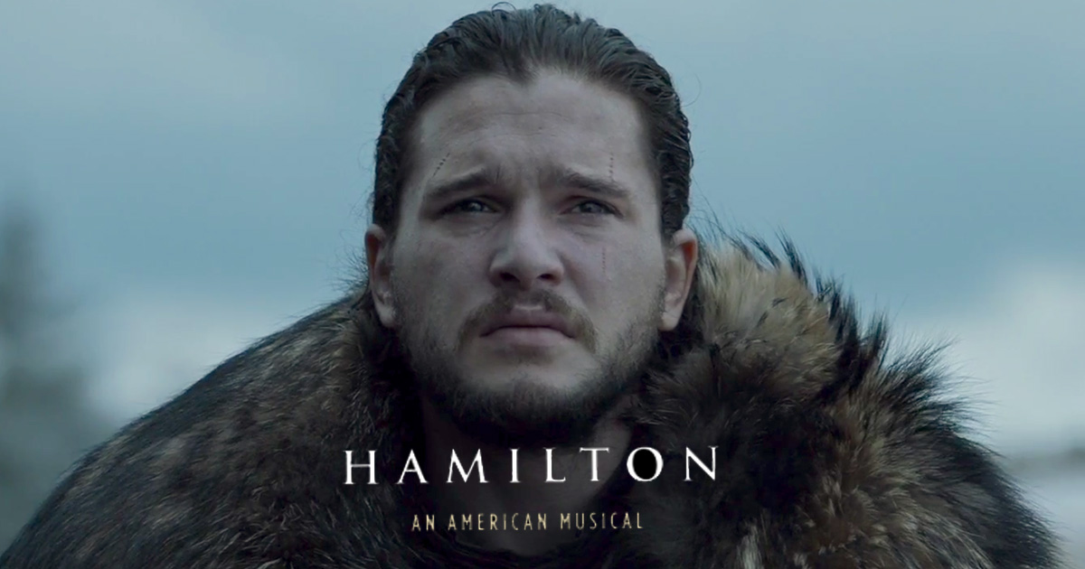 "Someone mashed up ""Hamilton"" and ""Game of Thrones,"" and it's everything we hoped it would be"
