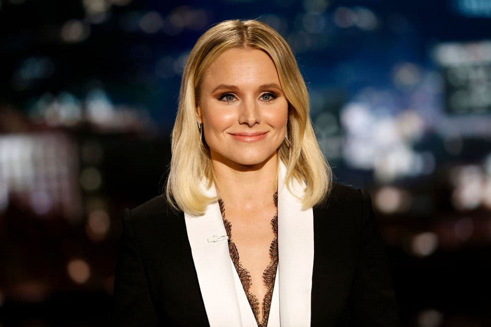 Kristen Bell just shared an epic throwback photo of herself as a toddler