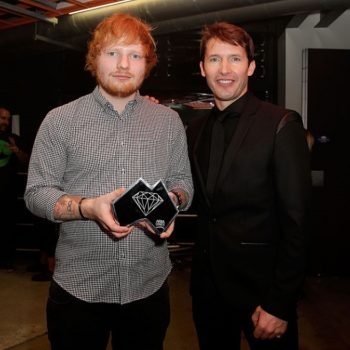 """James Blunt just tweeted the most perfect clapback to all the Ed Sheeran """"Game of Thrones"""" haters"""
