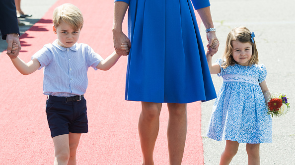 These photos of a sleepy Prince George and flower-wielding Princess Charlotte will melt your heart