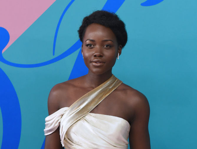 Lupita Nyong'o's rainbow bikini might be our favorite swimsuit of the summer