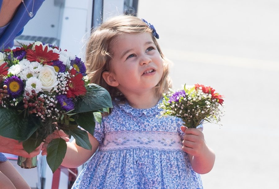 Princess Charlotte flawlessly assuming royal duties with a diplomatic handshake will make you faint from cuteness