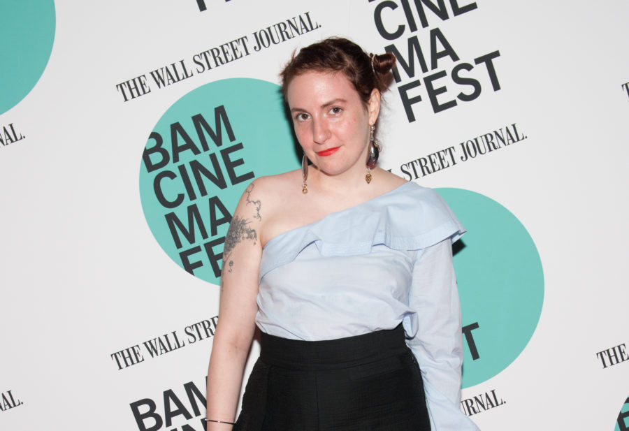 Lena Dunham posted a pic of herself in a latex bodysuit and crystal crown to remind us she is NOT here for internet trolls