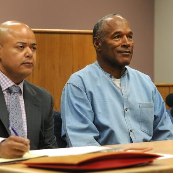 We should probably talk about what's happening with O.J. Simpson today