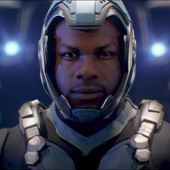 "The first trailer for ""Pacific Rim: Uprising"" is here and John Boyega is ready to take on the Kaiju"