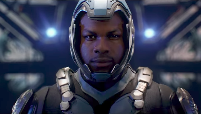 "The first trailer for ""Pacific Rim: Uprising"" is here, and John Boyega is ready to take on the Kaiju"