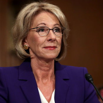 20 state attorneys general are urging Betsy DeVos to keep protections for campus sexual assault victims