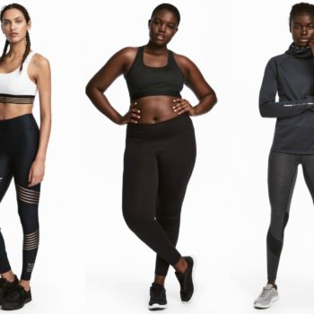 H&M released a new fall sports collection and it's the perfect combo of luxe and athleisure