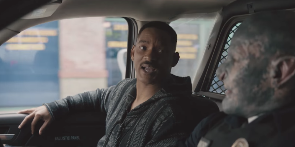 """The official trailer for Netflix's """"Bright"""" has arrived, and Will Smith and Joel Edgerton *are* the cavalry"""