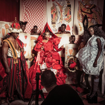 "The 2018 Pirelli calendar features an all-black cast in an ""Alice in Wonderland"" fantasy world, and the story behind it is powerful"