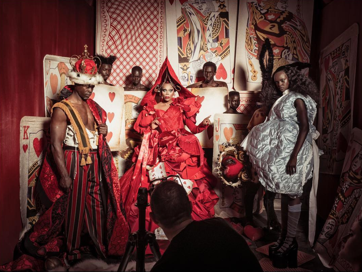 """The 2018 Pirelli calendar features an all-black cast in an """"Alice in Wonderland"""" fantasy world, and the story behind it is powerful"""