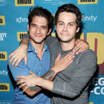 "Tyler Posey and Dylan O'Brien got really bromantic while talking about the end of ""Teen Wolf,"" so get ready to WEEP"