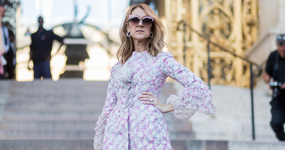 Celine Dion proved she's the ultimate fashion icon with these videos from Paris Fashion Week