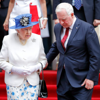 A Canadian official just breached royal protocol in a big way while visiting Queen Elizabeth